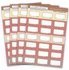 Etichette per conserve di carne e piatti cucinati (84 pz.)