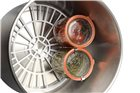 Pastorizzatore elettrico inox con rubinetto Tom Press