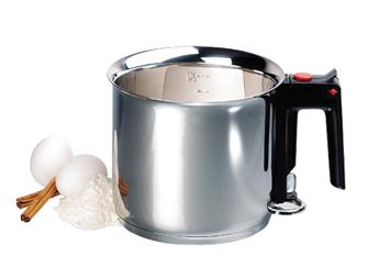 Pentolino inox per cottura a bagnomaria