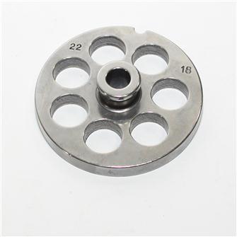 Piastra 18 mm per tritacarne n.22