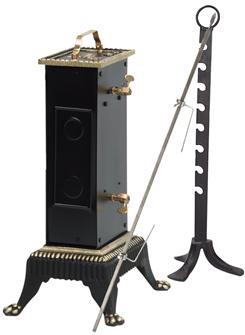 Girarrosto elettrico 30+8 kg, distanza 18 cm