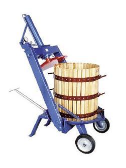 Torchio idraulico manuale a staffa, 128 l
