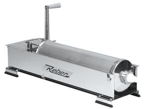 Insaccatrice orizzont. 12 kg inox REBER (8964 N)