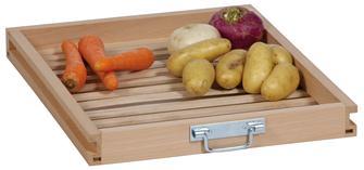 Cassetto in faggio per frutta e verdura