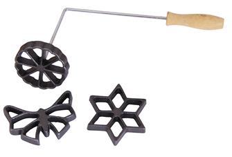 Ferro per beignet 3 stampi