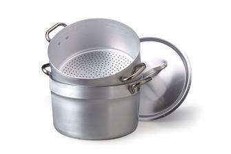 Pentola per couscous in alluminio 28 cm per cottur
