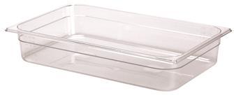 Bacinella per alimenti senza BPA GN 1/1 h. 10 cm copoliestere