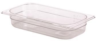 Bacinella per alimenti senza BPA GN 1/3 h. 6,5 cm copoliestere