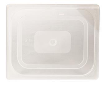 Coperchio per contenitore per alimenti GN 1/2 poli