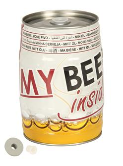Fusto vuoto per birra alla spina, 5 l