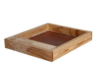 Nutritore in legno per arnia Dadant 10 telai