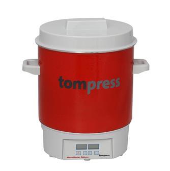 Pastorizzatore smaltato elettrico digitale Tom Press