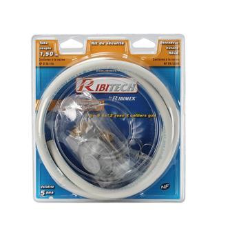 Kit tubo per gas a collare e riduttore butano