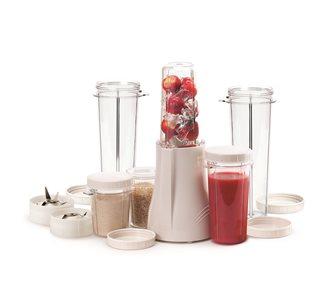 Mixer frullatore con 2 bicchieri 300 ml, 2 bicchieri 150 ml, 2 bicchieri 450 ml