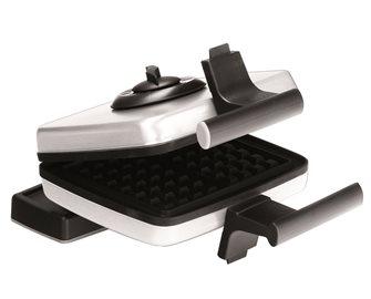 Piastra elettrica per gaufres/waffles 15x9 cm