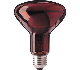 Lampada infrarossi rossa 100 W riscaldante