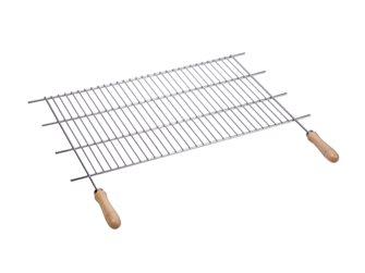 Griglia barbecue inox da ritagliare 73/82x40 cm