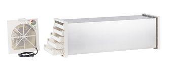Disidratatore essiccatore tunnel inox con termostato 10 vassoi plastica