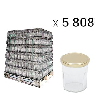 Bancale di vasi da marmellata da 200 g.