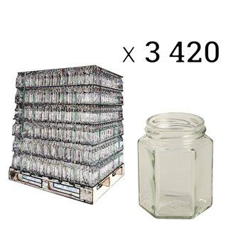 Vasetti esagonali 195 ml (3420 pezzi)