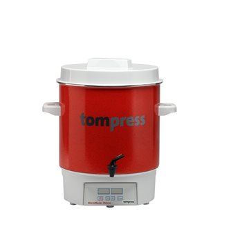 Pastorizzatore digitale smaltato Tom Press con rubinetto