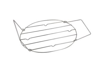 Grille inox pour roaster 42 cm avec poignées