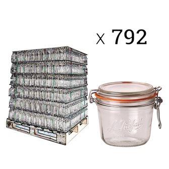 Bancale vasi Le Parfait da 500 g (792 pz.)