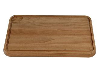 Tagliere con scolo 43x29 cm