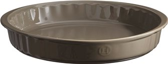 Piatto da torta ceramica grigio Silex Emile Henry 28 cm