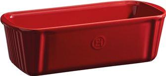 Stampo plum cake ceramica rosso Grand Cru Emile Henry