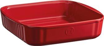 Stampo quadratro 24 cm ceramica rosso Grand Cru Emile Henry