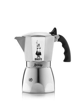 Moka 4 tazze per espresso cremoso