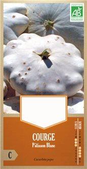 Semi di zucca Patisson Blanc