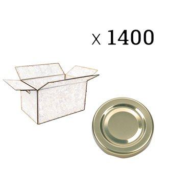 Capsule diametro 63 mm (cartone da 1400 pezzi)