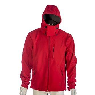 Giaccone termico uomo rosso Bartavel Dakota Softshell L