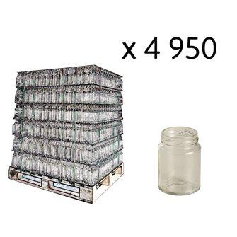 Bancale 6435 vasetti vetro cilindrici da 106 ml