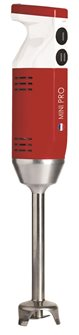 Mixer ad immersione Mini Pro rosso