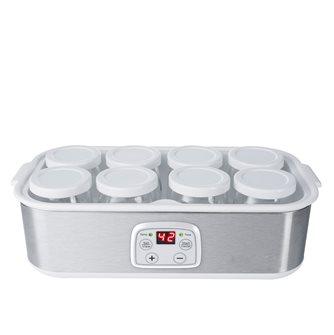 Yogurtiera 8 vasetti per 1,4 litri temperatura regolabile e timer