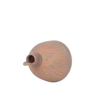 Casetta grigia con apertura frontale per cinciallegra