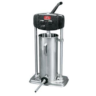 Insaccatrice verticale inox 13 litri 3 imbuti metallo
