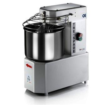 Impastatrice elettrica con ciotola in inox 10 litri